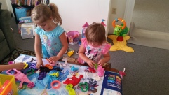 playdoh mess magic