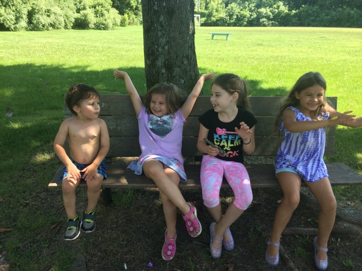 Summertime with Five Kids
